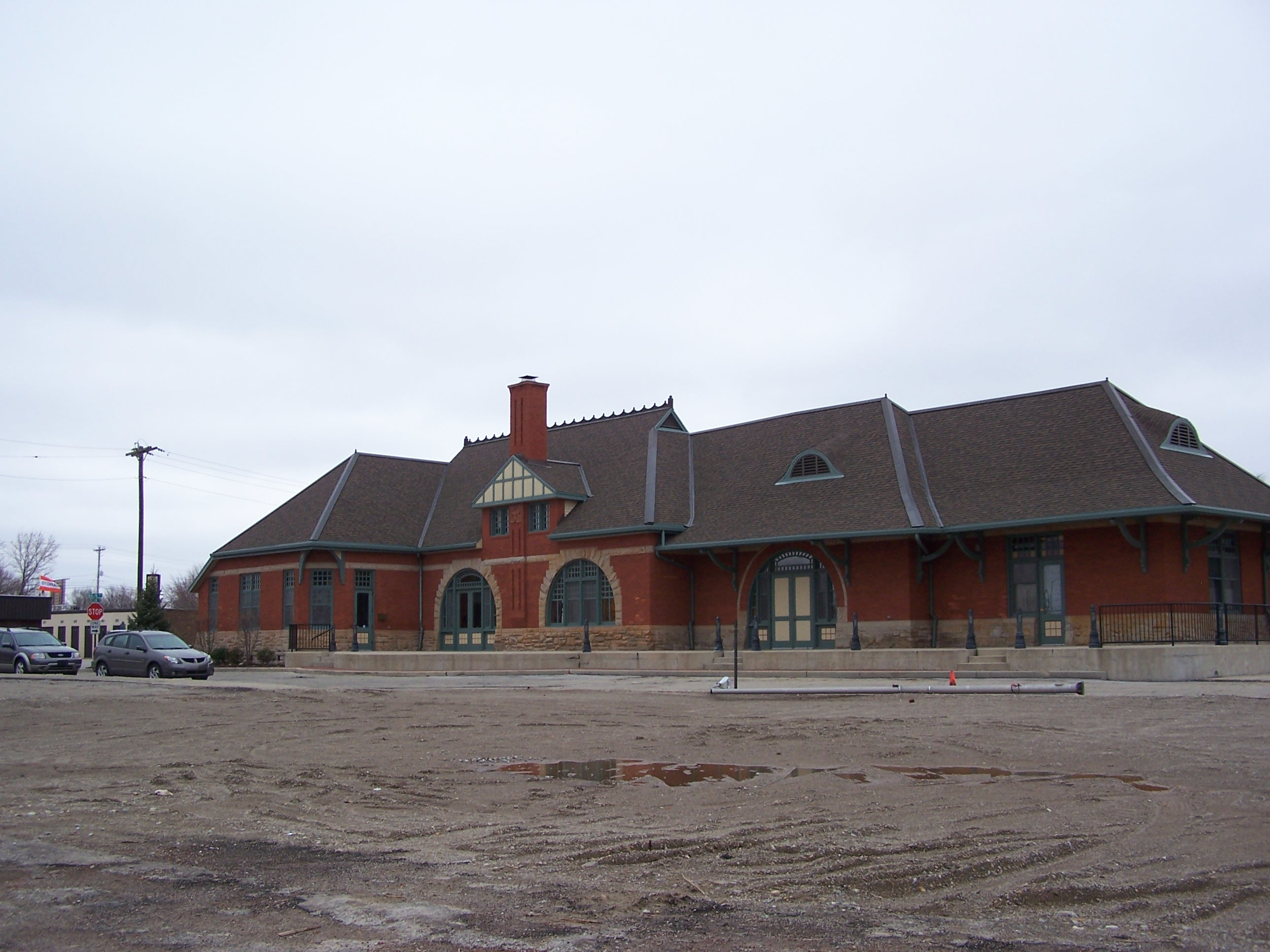 "The ""Big Four"" Depot"