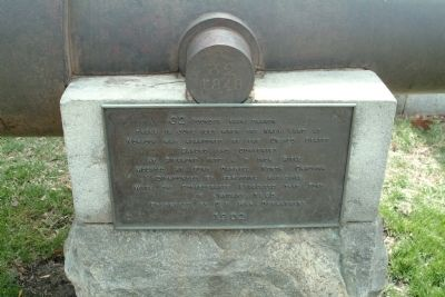 32 Pounder Naval Cannon Marker image. Click for full size.