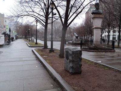 Marker in Military Park image. Click for full size.