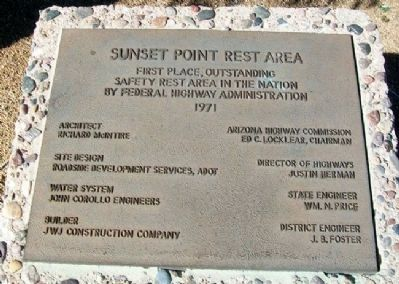 Another Sunset Point Rest Area Marker image. Click for full size.