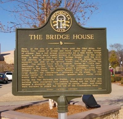 The Bridge House Marker image. Click for full size.