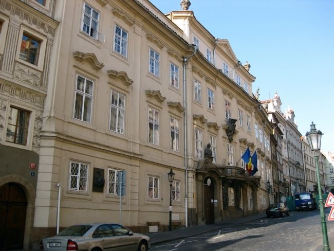 Morzin Palace (1688) and Michael the Brave (1558-1601) Marker image. Click for full size.