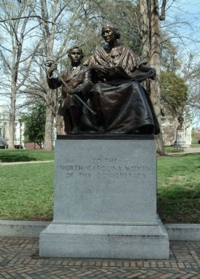 To the North Carolina Women of the Confederacy Marker Photo, Click for full size