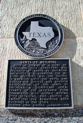 Santa Fe Building Marker image. Click for full size.