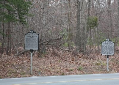 Joseph Morton and Old Briery Church Markers image. Click for full size.