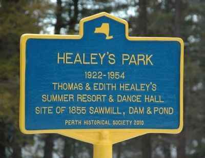 Healy's Park Marker image. Click for full size.