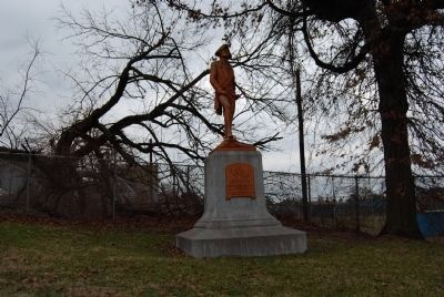 Colonel George Washington Statue image. Click for full size.