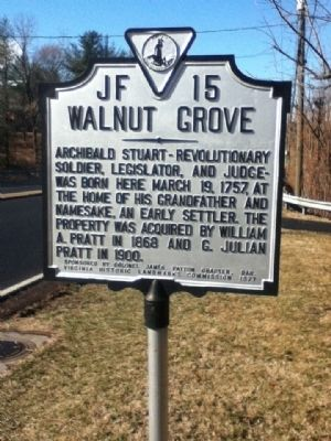Walnut Grove Marker image. Click for full size.