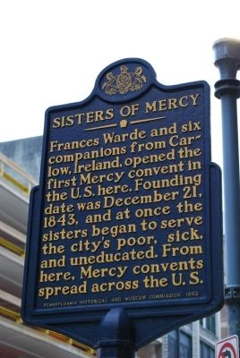 Sisters Of Mercy Marker image. Click for full size.