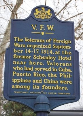 V.F.W. Marker image. Click for full size.