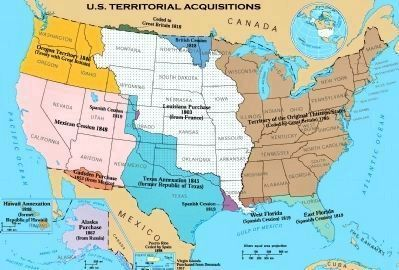 The Louisiana Purchase (in White) image. Click for full size.