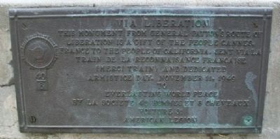 Viva Liberation Marker image. Click for full size.