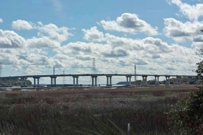 Today's Hilton Head Island Bridge, as mentioned image. Click for full size.