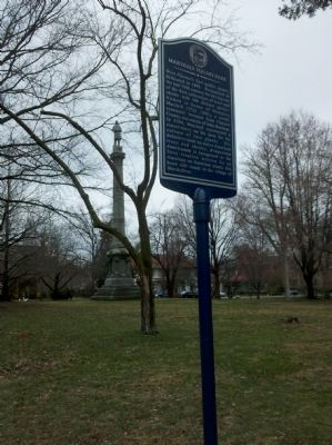 Marshall Square Park Marker Photo, Click for full size