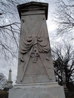 Detail of Capt. Henry J. Biddle Monument image. Click for full size.