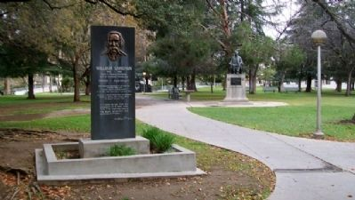 William Saroyan Monument image. Click for full size.