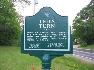 Ted's Turn Marker image. Click for full size.