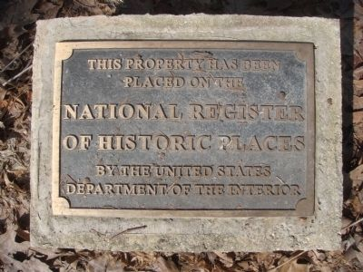 Ely House National Register of Historic Places Marker Photo, Click for full size