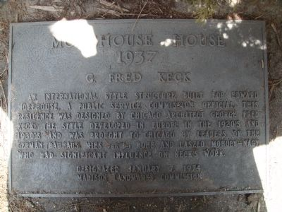 Morehouse House Marker image. Click for full size.