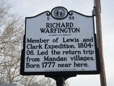 Richard Warfington Marker image. Click for full size.