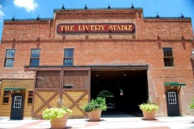 The Livery Stable -<br>Facade image. Click for full size.