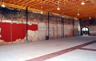 Livery Stable Interior -<br>Southwest Wall image. Click for full size.