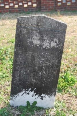 Margaret Red Tombstone image. Click for full size.