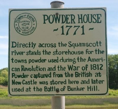 Powder House Marker image. Click for full size.