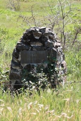 Donner Emigrant Trail Marker image. Click for full size.