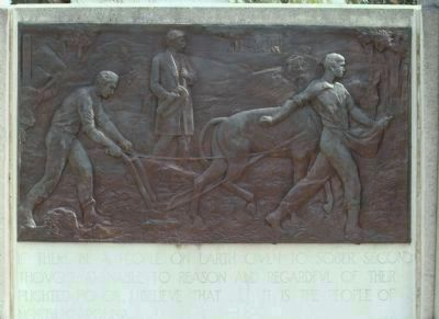 Zebulon Baird Vance Memorial (left side) image. Click for full size.