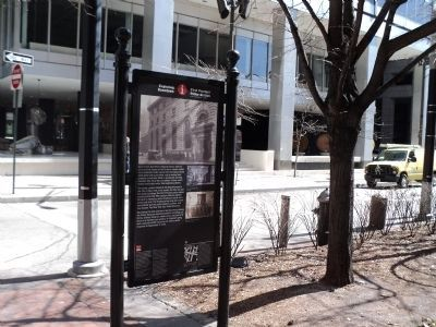 Marker on Water Street Photo, Click for full size