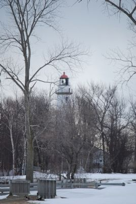 Pointe Aux Barques Lighthouse image. Click for full size.