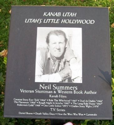 Neil Summers Marker image. Click for full size.