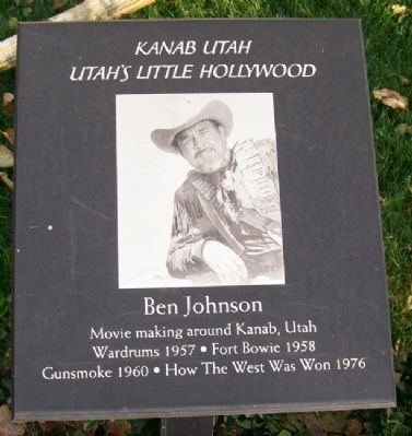 Ben Johnson Marker image. Click for full size.