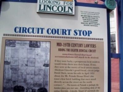 Looking For Lincoln Marker image. Click for full size.