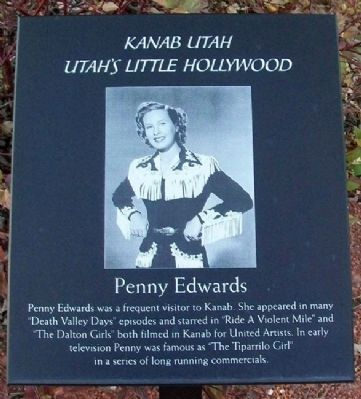 Penny Edwards Marker image. Click for full size.