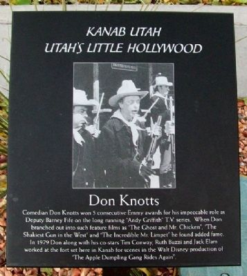 Don Knotts Marker image. Click for full size.