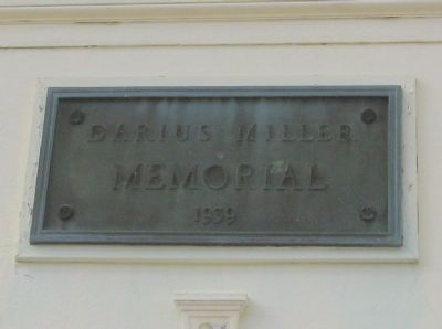 Plaque on the Bandshell image. Click for full size.