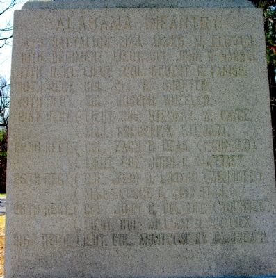 Alabama State Memorial Marker image. Click for full size.
