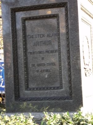 Chester Alan Arthur Marker image. Click for full size.