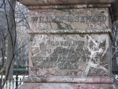 William H. Seward Marker image. Click for full size.