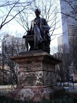 William H. Seward Statue image. Click for full size.
