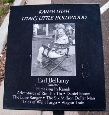 Earl Bellamy Marker image. Click for full size.