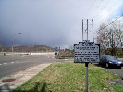 Lee Hwy (facing east) image. Click for full size.