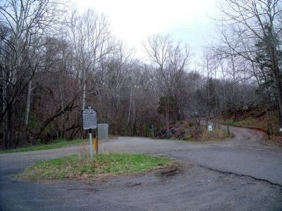 Eggleston Rd & Redbud Ln (facing east) Photo, Click for full size