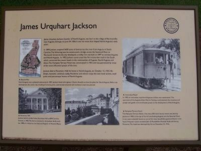 James Urquhart Jackson Marker image. Click for full size.
