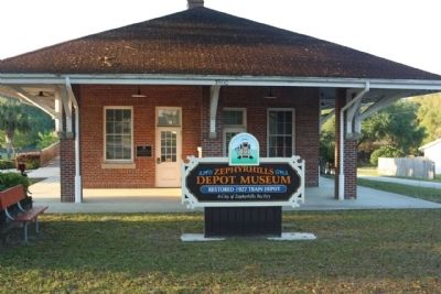 Zephyrhills Railroad Depot image. Click for full size.