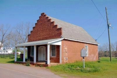 Goggans, Georgia Marker and Goggins General Store Photo, Click for full size