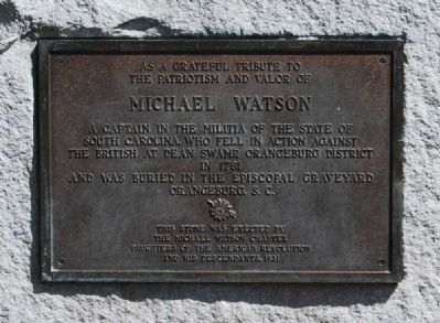 Michael Watson Marker Photo, Click for full size