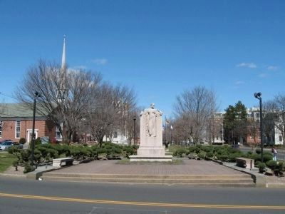 To Elihu Burritt Monument Photo, Click for full size